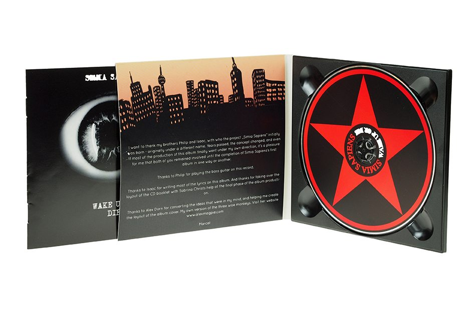 CD Digipack Booklettasche