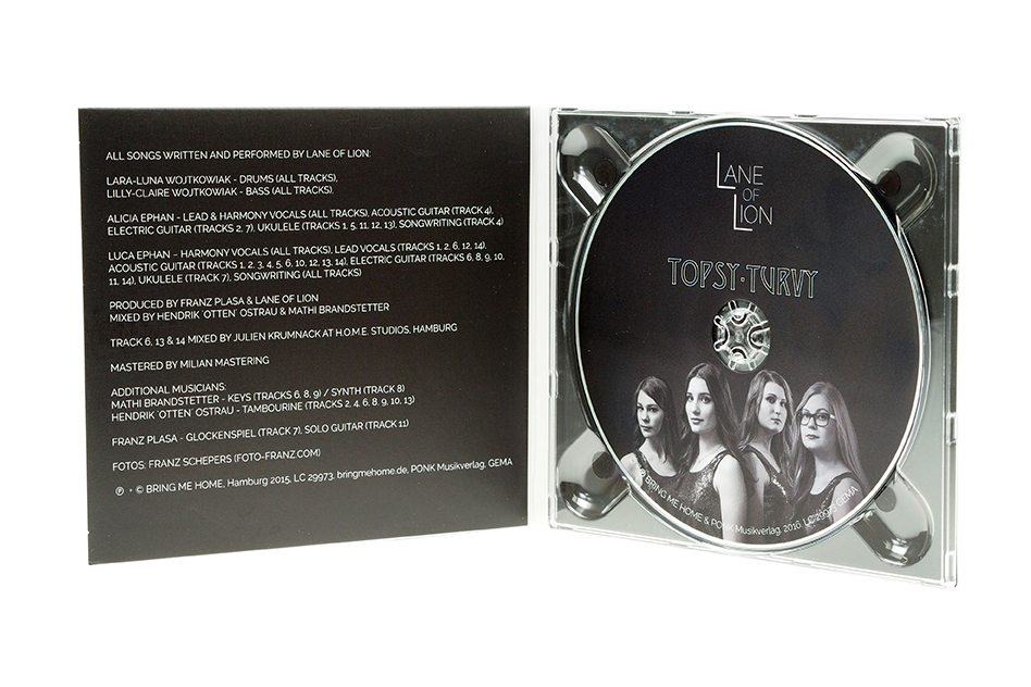CD Digipack Innenansicht