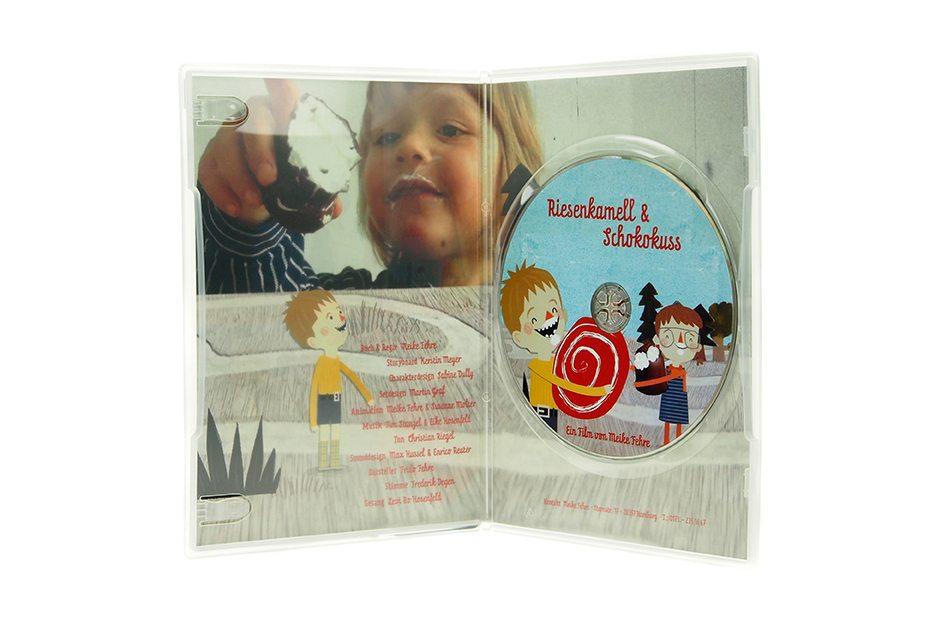 DVD Slimbox Innenansicht