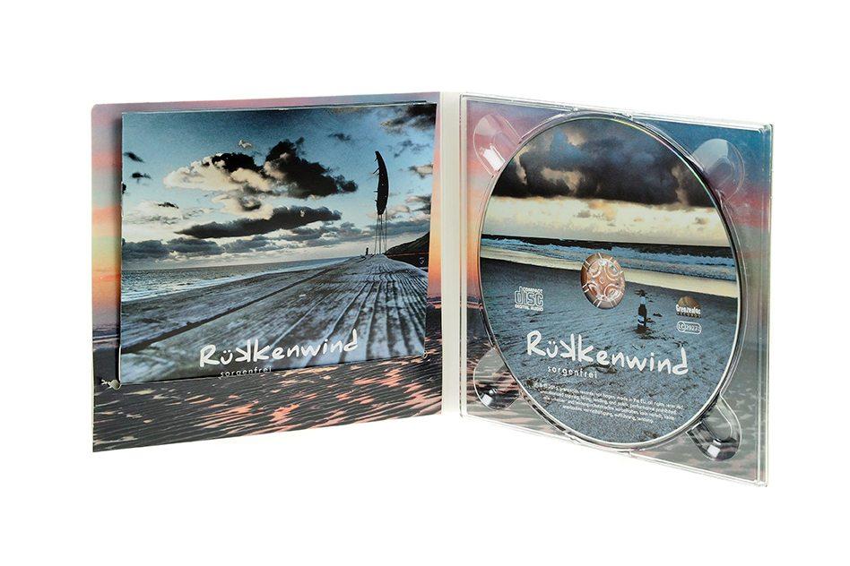 CD Digipack Bookletschlitz