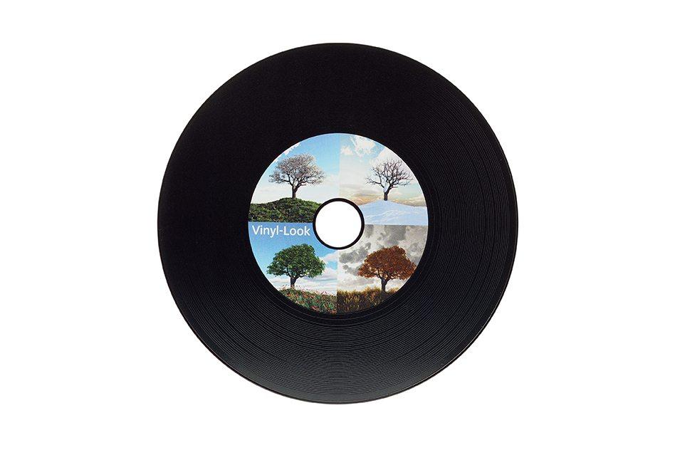 CD Label Vinyl